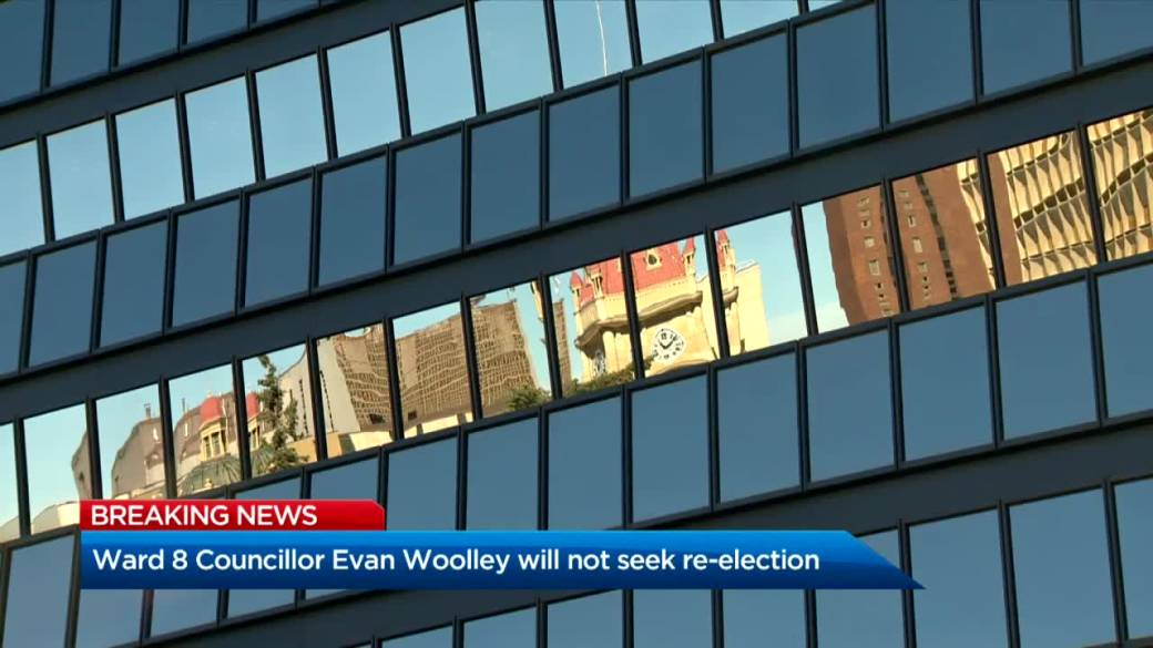 Click to play video 'Calgary councillor Davison to run in Calgary's 2021 election, but not Woolley'