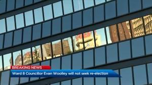 Calgary councillor Davison to run in Calgary's 2021 election, but not Woolley (01:58)