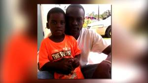 Father searches for 6-year-old son swept away by Hurricane Dorian