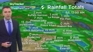 Return to seasonal temperatures: August 26 Saskatchewan weather outlook