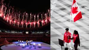 Tokyo Olympics: Games officially kick off with fireworks at opening ceremony (02:09)