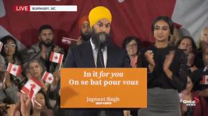 Federal Election 2019: Singh says he congratulated Trudeau on a hard fought campaign