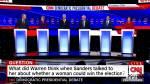 Democratic presidential candidates spar in final debate before Iowa caucuses