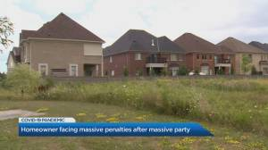 Brampton homeowner facing bylaw charges after massive party