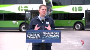 Federal Election 2019: Conservatives propose public transit tax credit