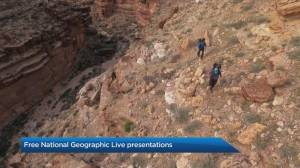 Calgarians get exclusive offer of free National Geographic Live presentations (04:24)