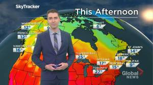 Saskatchewan weather outlook: June 3