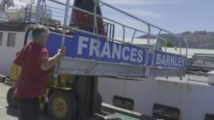 Lady Rose ferry service ends travel on outer coast of Vancouver Island (02:11)
