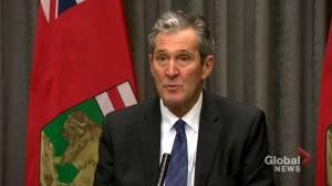 Coronavirus outbreak: Pallister says mental health supports for Manitobans now online (01:57)