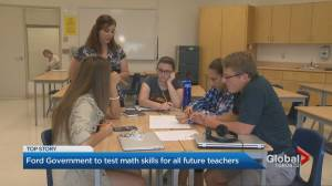 Ford government to implement math testing for all future teachers