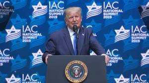 Trump says 'let's see what happens' with Iran, accuses some 'far-left' Congress members of antisemitism