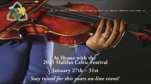 Halifax Celtic Festival Goes Virtual (06:15)