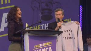 Toronto Mayor John Tory declares September 16 'Bianca Andreescu Day'