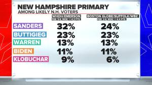 Buttigieg, Sanders in virtual tie as Democrats set their sights on New Hampshire