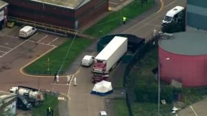 39 victims found dead in truck were Chinese nationals: U.K. police