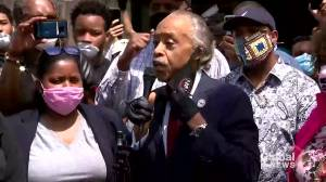 George Floyd death: Rev. Al Sharpton leads prayer vigil, calls for justice