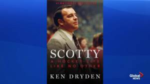 Hockey legend Ken Dryden visits Halifax with new book about Scotty Bowman