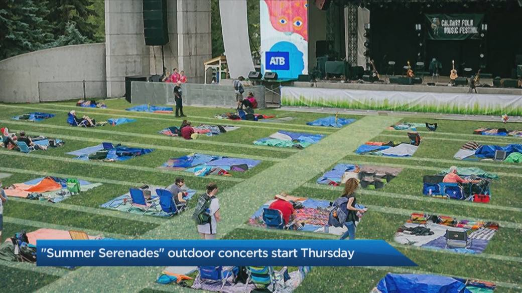 'Live performances instrumentality    to the Summer Serenades outdoor performance  series'
