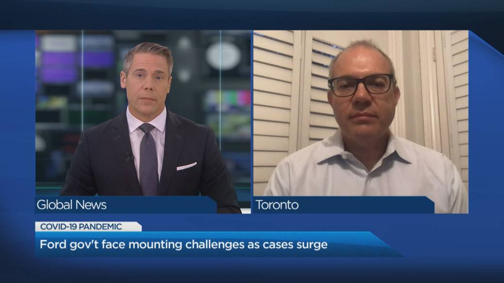 Click to play video 'Coronavirus: How Ontario is handling its 2nd wave'