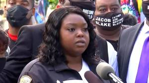 Breonna Taylor: Taylor's aunt reads emotional statement on behalf of Taylor's mother following grand jury decision