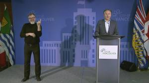 Vancouver mayor reminds residents to follow physical distancing measures on Mother's Day (02:00)