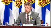 Play video: COVID-19: Premier Rankin says province on target to provide vaccine dose to anyone who wants one by end of June