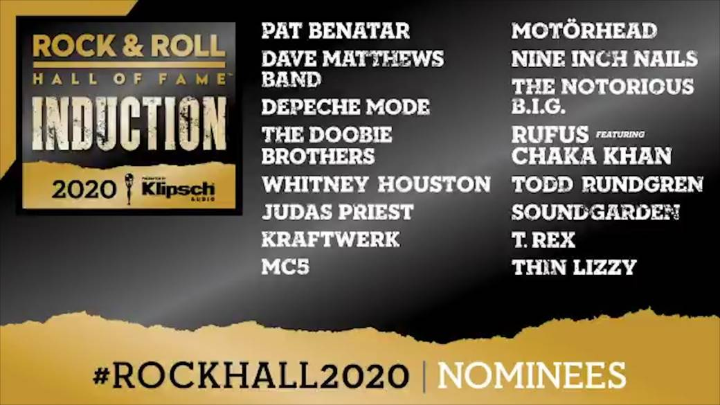 Rock And Roll Hall Of Fame 2020 Nominees Include Whitney