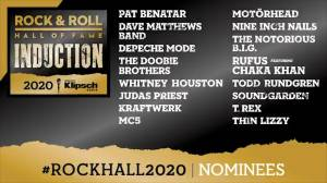 Rock and Roll Hall of Fame announces 2020 induction nominees