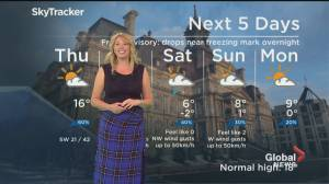 Global News Morning weather forecast: May 7, 2020