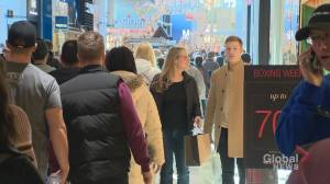 Calgarians pack the malls for Boxing Day
