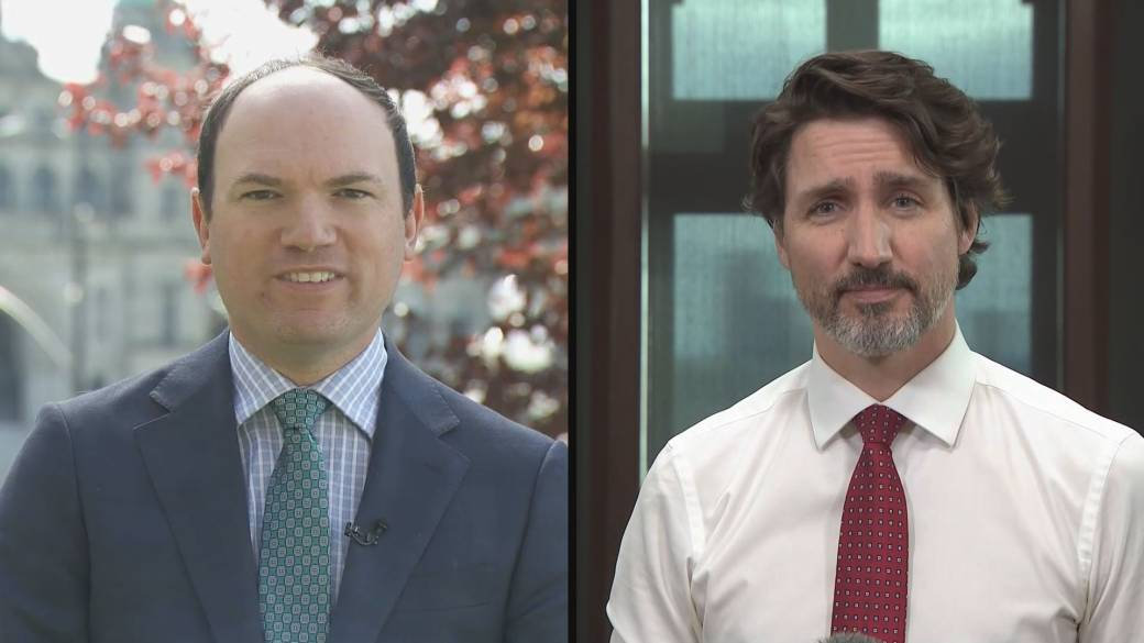 Click to play video: 'Trudeau on conversation with U.S. President Joe Biden about when more COVID-19 vaccines will be coming to Canada'