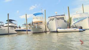 N.B. boater says water levels at worst this year due to dry weather
