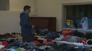 Donations fill Bankview Community Centre on Boxing Day for displaced Calgary condo fire victims