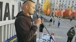 B.C. anti-mask activist charged for  quarantine violations (01:19)