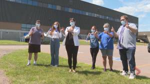 Concerns about N.B. doing away with masks as cases elsewhere rise (02:03)