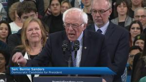 Bernie Sanders claims victory in New Hampshire primary