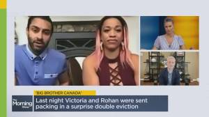 Secret behind Big Brother Canada's latest evictions (03:06)