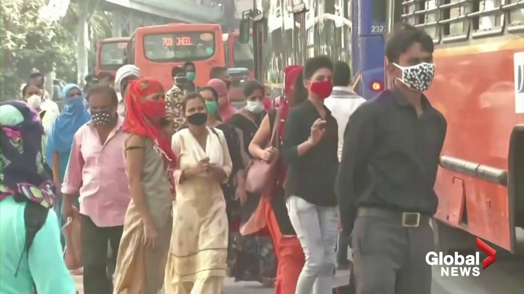 Click to play video 'Coronavirus: India reaches grim milestone of over 100,000 COVID-19 deaths'