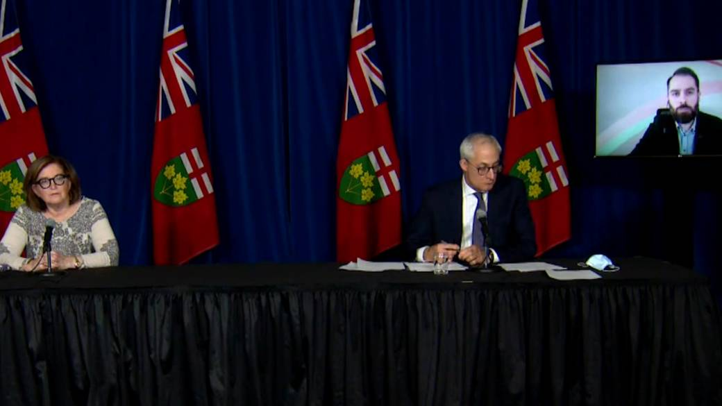 Ontario officials discuss COVID-19 ethical framework for vaccine distribution, prioritization'