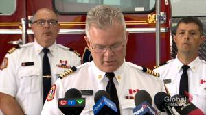Halifax Regional Fire & Emergency Chief provides statement on Spryfield fire