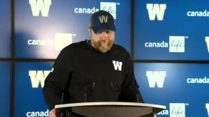 RAW: Blue Bombers Mike O'Shea Media Briefing – Oct. 17