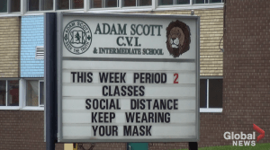 3 Adam Scott Collegiate students test positive for COVID-19