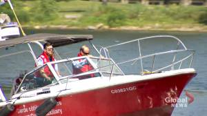 Recreational boating: Canadian Coast Guard promoting water safety in Montreal (01:58)