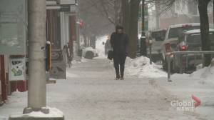 Southern New Brunswick hit with ice pellets