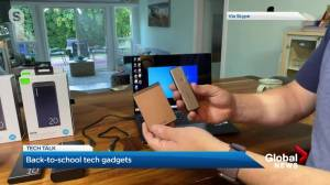 Tech Talk: Back-to-school accessories (03:57)
