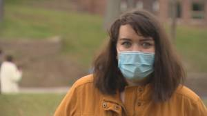 Protest against sexual violence, calls for Mount Allison University to take action (06:33)