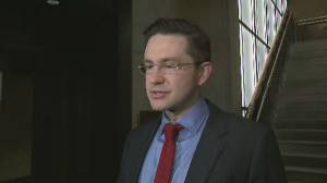 Pierre Poilievre gives timeline that led to dropping out of Conservative leadership race