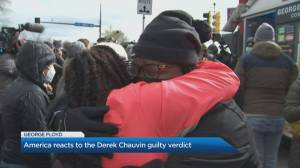 America reacts to the Derek Chauvin guilty verdict (05:10)