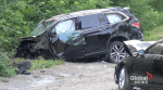 10 injured — 1 seriously — following 3-vehicle collision just east of Lindsay, Ont.: police