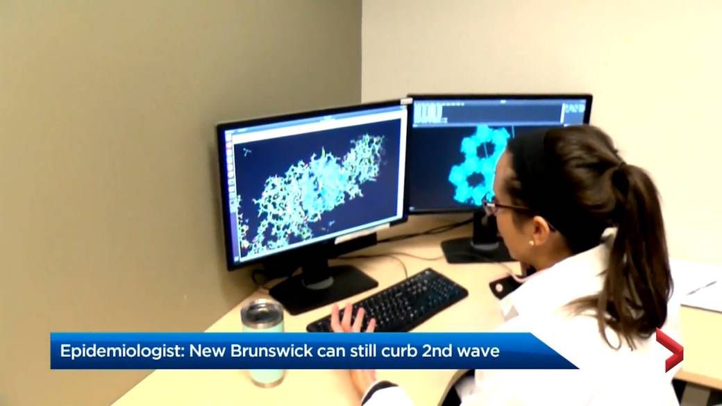 Click to play video 'Cases of COVID-19 continue to climb in New Brunswick'